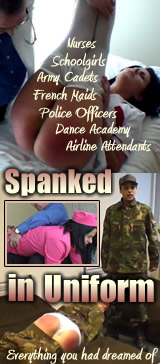 Spanked in Uniform